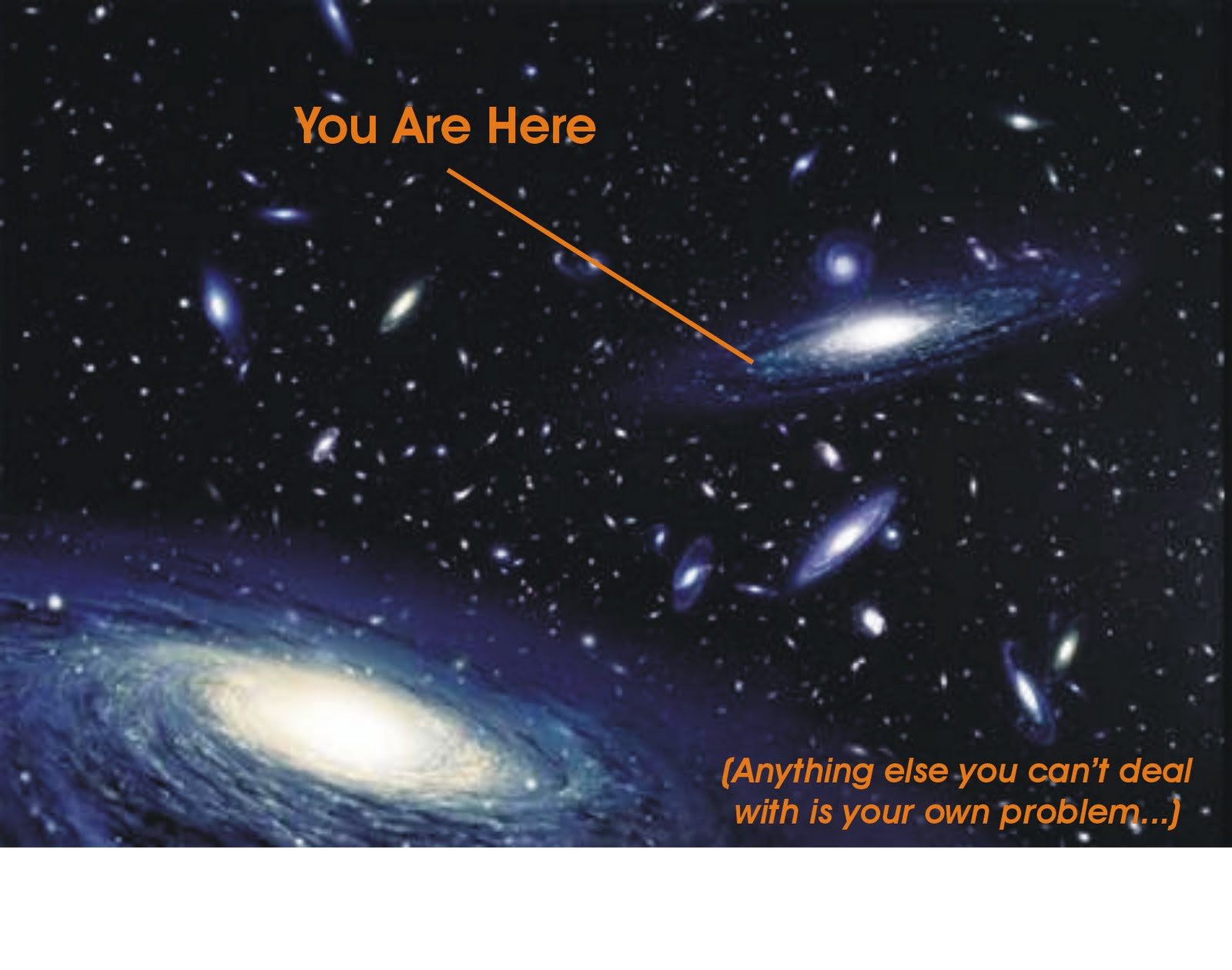 universe-you-are-hereUniverse You Are Here Poster